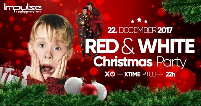 Tradicionalni Red & White Christmas Party - Klub Xtime Ptuj /16+